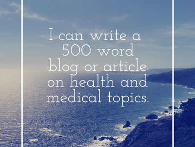 Write a 500 word SEO blog for the health and wellness industry