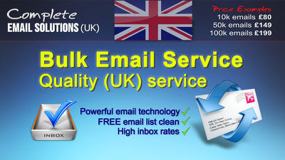 Send to 10,000 emails in bulk (HIGH INBOX RATE)