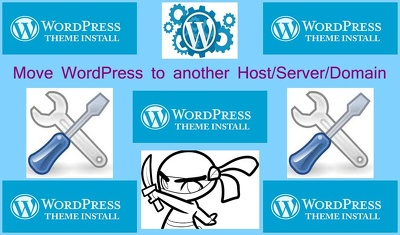 Move your WordPress site to new Server/Host/Domain