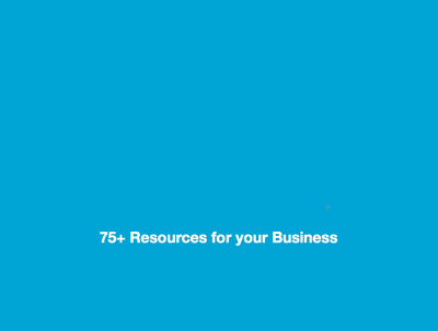 Deliver over 75+ internet resources for your business
