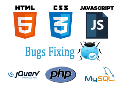 Fix any Jquery | Javascript | JSON | PHP | HTML | CSS issue