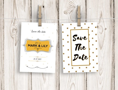 Design a unique event/party/wedding invitation