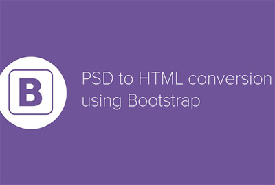 Psd to responsive HTML5+CSS3+JS using Bootstrap