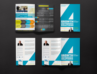 Design a bifold 4 page brochure/leaflet (add-on for 6pp or 8pp)