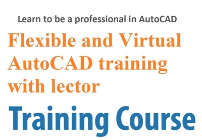 Learn AutoCAD online via the Internet in real time.