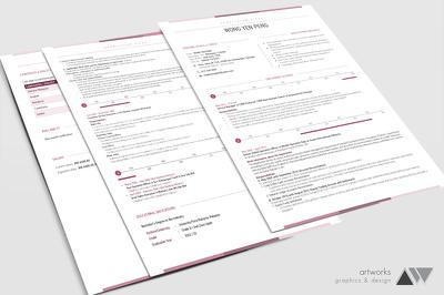 Design CV / Resume