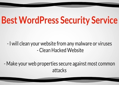 Remove malware, Hacked Virus or Malicious code and Secure your WordPres site