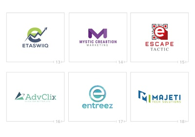 Design professional logo with 3 initial concepts