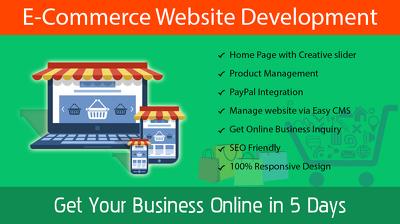 E-commerce website using Wordress