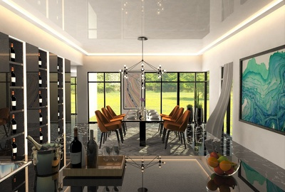 Professionally Build and Render Highly Detailed 3D Realistic Images for Dining Room