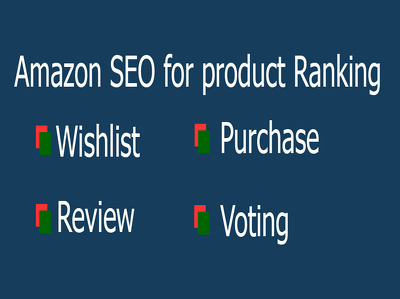 Do wishlist, gift idea and purchase for amazon product rank per keyword
