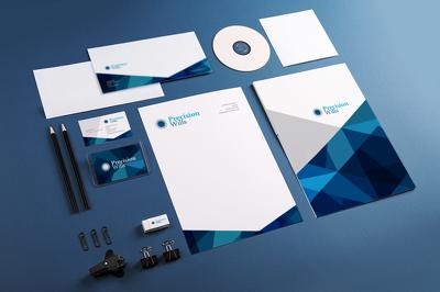 "Design you pro Stationary Pack ""Letter-head, A4-folder,Business-Card,envelope e.t.c"""