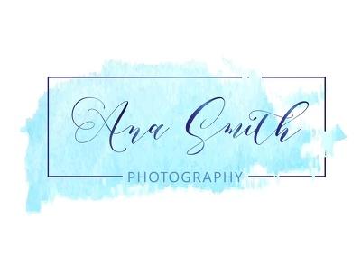 Make signature watercolor logo