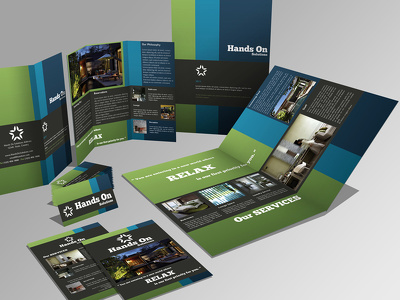 Design an eye-catching bi-fold and tri-fold brochure/leaflet