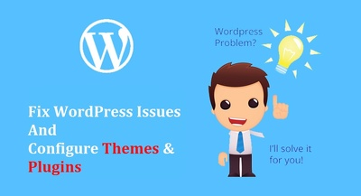 Configure, fix and customize WordPress