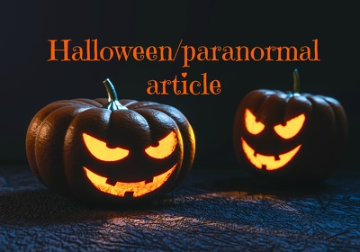 Write a Halloween/paranormal article