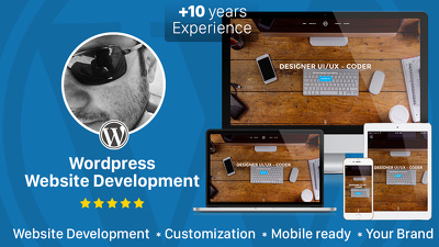 Design and develop Wordpress website mobile friendly