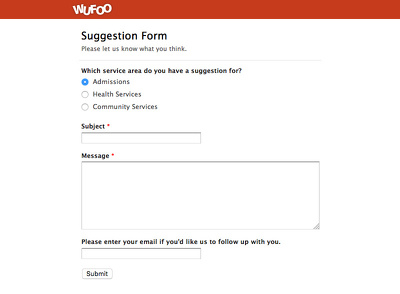 Set up an Interactive Form