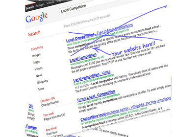 Get Your Website In The Top 3 Organic Place Listing or Organic Search Engine Results