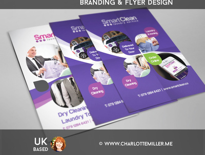 Design a professional flyer (leaflet) double sided
