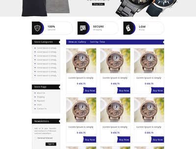 Design + integrate your ebay store and listing template with new policy 2017