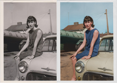 Restore and colorize your old photos