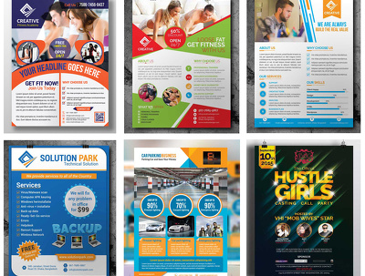 Design an Awesome Flyer, Leaflet or Poster