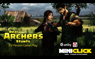 """Create Unity 3D Hunting Game """"Real Archers Stunts"""" Android & IOS Source code"""