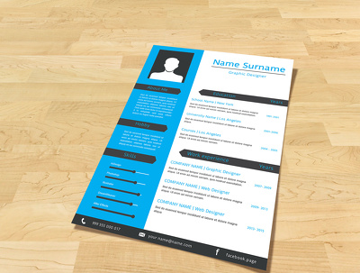 Design your CV/Resume