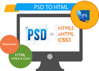 Convert your PSD to Responsive HTML5 CSS3 Webpage