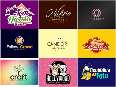 Design an exclusive logo with unlimited concepts