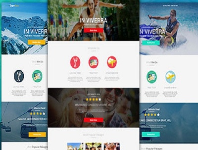Create a Travel Landing page