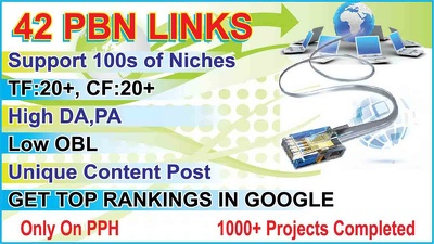 Create 42 permanent PBN Links