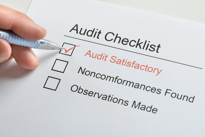 Conduct a regulatory compliance audit (for FCA and MOJ)