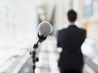 Give you a one hour Public Speaking class -Skype /online. CoursesPublicSpeaking.com