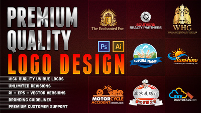 Design a professional logo with 3 concepts and unlimited revisions