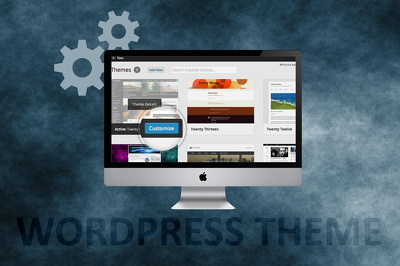 Setup and customize your WordPress theme within 2 days.