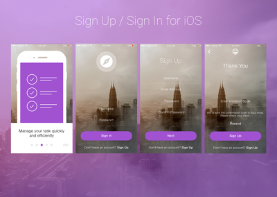 Design Professional UI / UX For iOS / Android Mobile App Including All Source Files