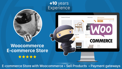 Create your E-commerce Website with Woocommerce and Wordpress