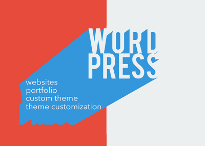 Build your WordPress website, custom theme or landing page