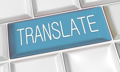Translate your 500 words English document into French Today