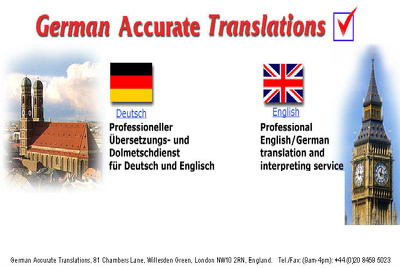 Translate 500-1000 Words from German to English/English to German
