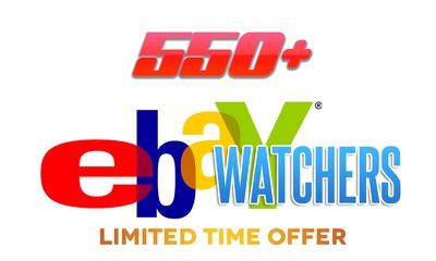 Add 550+ eBay watchers safe ebay SEO