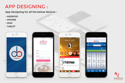 Design amazing UI for your iOS,Android,Windows app 20 pages