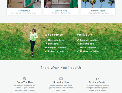 Design A Professional e- Commerce website PSD (Website Home page with three option )