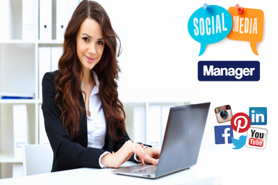 I Will be Your Social Media Manager For 1 Day For Only $15