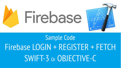 Set up the firebase foundations for iOS SWIFT and OBJECTIVE-C
