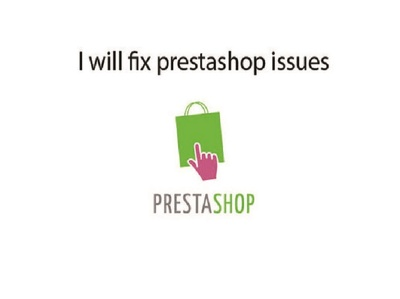 Fix any bugs and errors in Prestashop