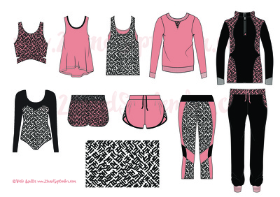 Create a capsule collection of 10 fashion items, relevant to your target customer