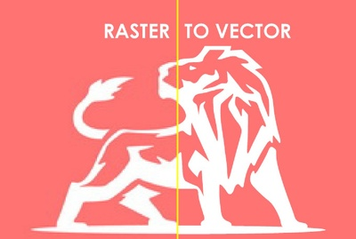 Re-draw/ Vectorise your logo in scaleable Vector in 12 hours